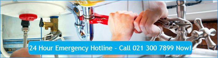 emergency plumber in Diep River